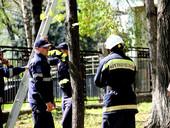 GALERIE FOTO. Angajații serviciilor de forță intervin și în weekend pentru a ajuta la curățirea Capitalei