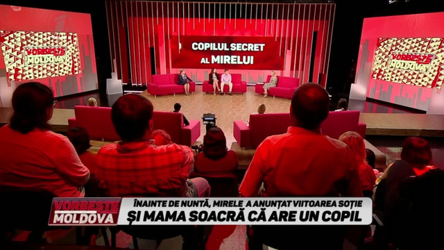 """Vorbește Moldova din 21 Octombrie 2019 """"Copilul secret al mirelui"""""""