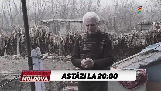 """""""MI-AU ALUNGAT TATĂL DIN SPITAL"""". Urmăriți în această seară la Vorbește Moldova, istoria bătrânului din Florești care ar fi fost alungat din spital, dezbrăcat și desculț"""