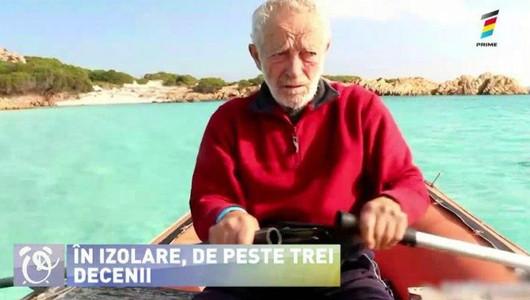 Sfaturi despre izolare de la un italian care locuiește de 31 de ani singur pe o insulă