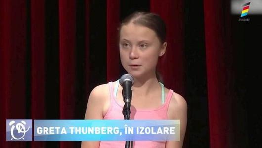 Greta Thunberg s-a autoizolat pentru că suspectează o infectare cu coronavirus