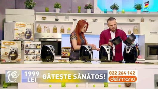 Prezentatorii de la Telemagazin, în bucătăria Prima Oră. Află care este oferta zilei
