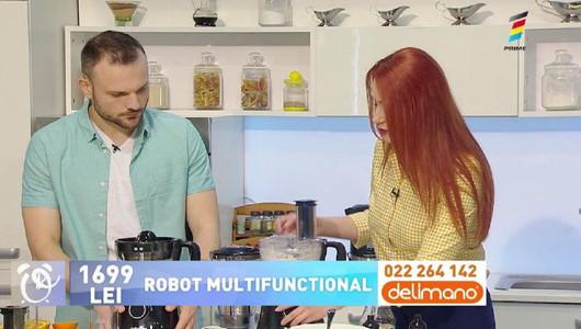 Prezentatorii de la Telemagazin, în bucătăria Prima Oră. Vezi oferta zilei