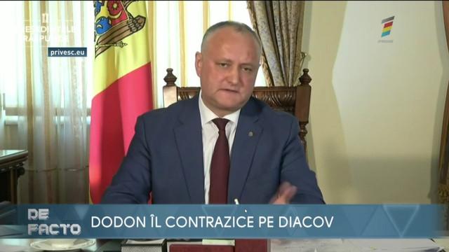 De Facto - 7 aprilie 2020. INIȚIATIVĂ SURPRINZĂTOARE A LUI DIACOV