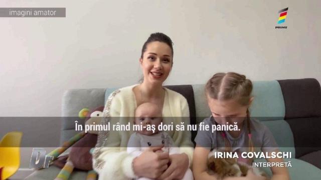 Sfaturi utile de la interpreta Irina Covalschi despre obiectele din casă care pot pune în pericol viața copilului