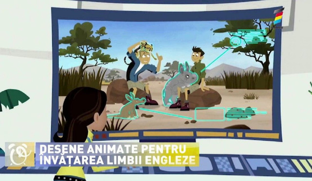 Topul desenelor animate care ajută la învățarea limbii engleze a copilului