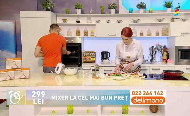 Prezentatorii de la Telemagazin, în bucătăria Prima Oră. Vezi oferta irezistibilă a zilei de azi