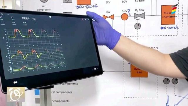 Tesla dezvăluie prototipul unui ventilator medical, realizat cu piese auto, pentru bolnavii de COVID-19
