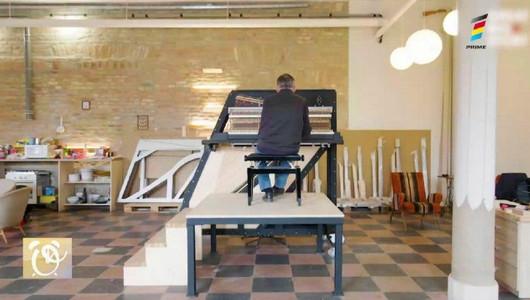 Un meșter creează cele mai înalte instrumente muzicale din lume și fiecare are sunete diferite