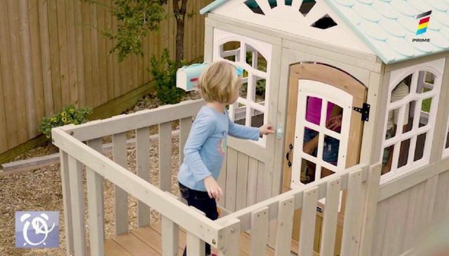 Loc de joacă pentru copii în curtea casei. Iată cele mai bune idei pentru amenajarea