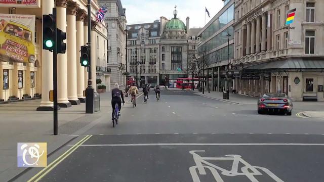 Oamenii din Europa aleg să se urcă pe biciclete, pe măsură ce restricțiile generate de pandemie sunt relaxate