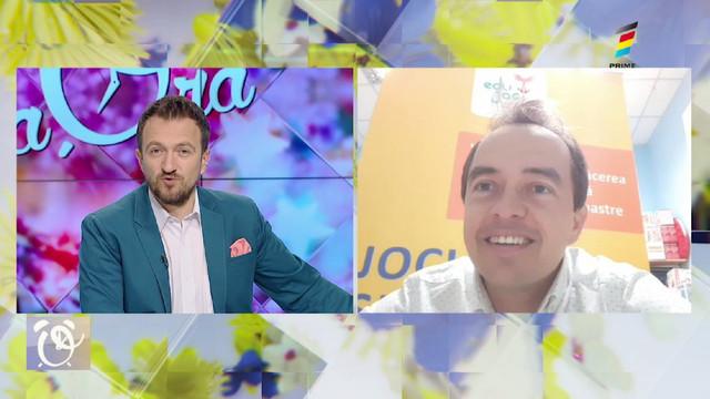 Igor Hâncu, antreprenorul companiei EduJoc, la Prima Oră. Află cum și-a reorientat activitatea pe timp de pandemie