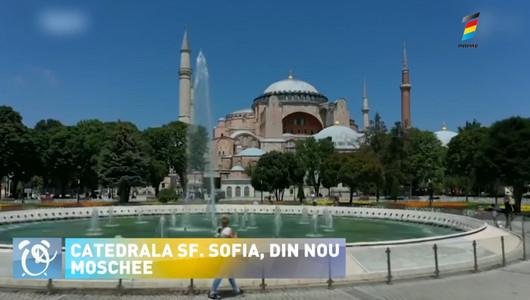 Catedrala Sfânta Sofia din Istanbul va fi transformată, din nou, în moschee