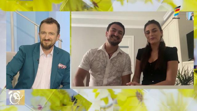 Interviu cu Mihaela Tabură și Sergiu Fetescu, la Prima Oră. Detalii exclusive despre noua lor piesă