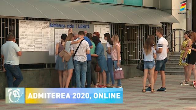 Admiterea 2020 va fi organizată online