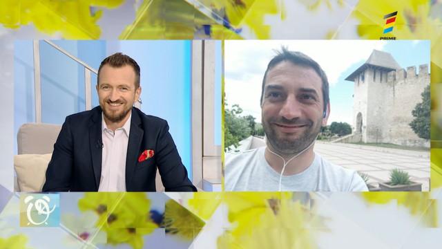 Ghidul locurilor de vizitat în Moldova. Interviu cu Vadim Șterbate, la Prima Oră