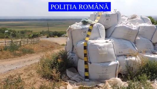 Descoperire șocantă în România. 35 de tone de nitrat de amoniu, substanță care a provocat dezastrul din Beirut, găsite de oamenii legii la un depozit