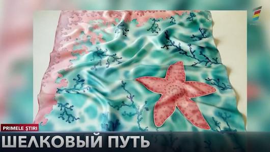 Шелковый путь. Ольга Руснак и ее удивительные платки