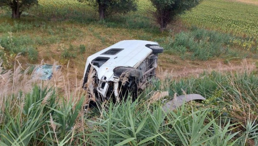 Accident teribil în raionul Călărași!  Două microbuze s-au ciocnit frontal, iar mai mulți pasageri au avut de suferit în urma impactului