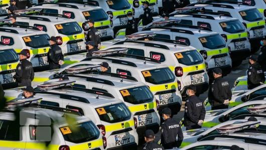 Poliția Republicii Moldova a achiziționat 52 de automobile noi, dotate cu sisteme inovative de monitorizare