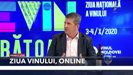 Interviu cu directorul Oficiului Național al Viei și Vinului Gheorghe Arpentin, în studioul