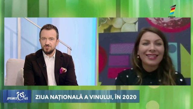 Interviu cu Parascovia Ignat, la Prima Oră. Află cum va avea loc Ziua Vinului în acest an