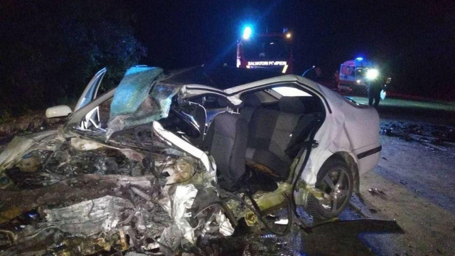 Accident terifiant în apropiere de localitatea Corlăteni. Doi șoferi și un bebeluș de numai trei luni au decedat în urma coliziunii violente