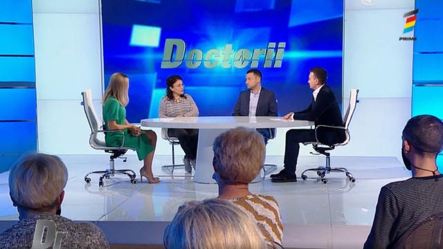 Interviu cu Artiom Surev și Angela Peltec, la Doctorii. Ce trebuie să facem dacă înghițim un obiect mic