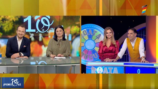 EXCLUSIV! Interviu cu Anastasia Fotachi și Dan Negru despre noul sezon al emisiunii Roata Norocului