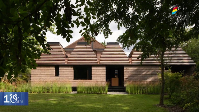 Cum putea construi o casă din coajă de copac