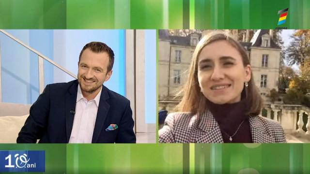 Interviu cu Iulia Brad, la Prima Oră. Află cu este să lucrezi la vinărie franceză