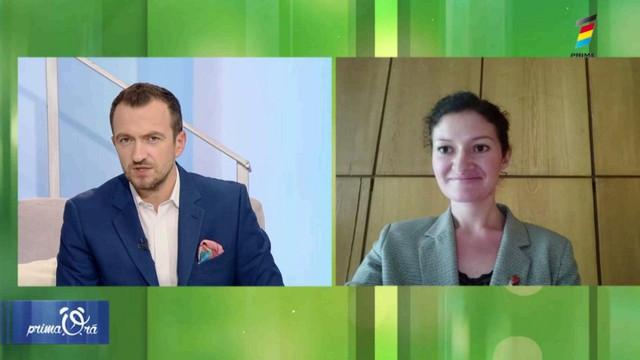 Interviu cu nutriționistul Maria-Victoria Racu, la Prima Oră. Află care sunt alimentele care combat astenia de toamnă