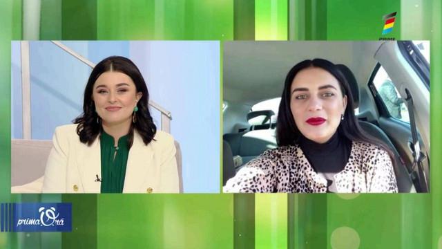 Interviu cu Mihaela Tabură, la Prima Oră. Detalii exclusive despre noul său videoclip