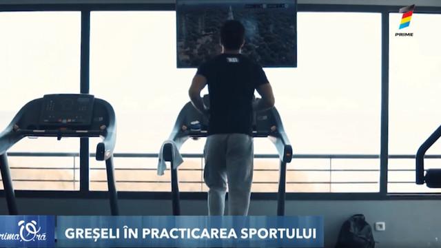 Sportul poate fi dăunător?! Greșelile periculoase pe care le facem în timpul antrenamentelor