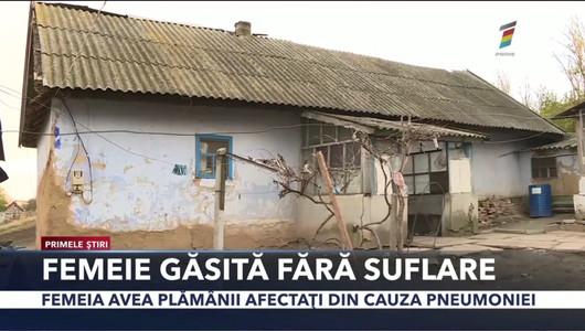 O femeie din Răscăieți, în vârstă de 35 de ani, a fost găsită fără suflare, lăsând orfani 6 copii