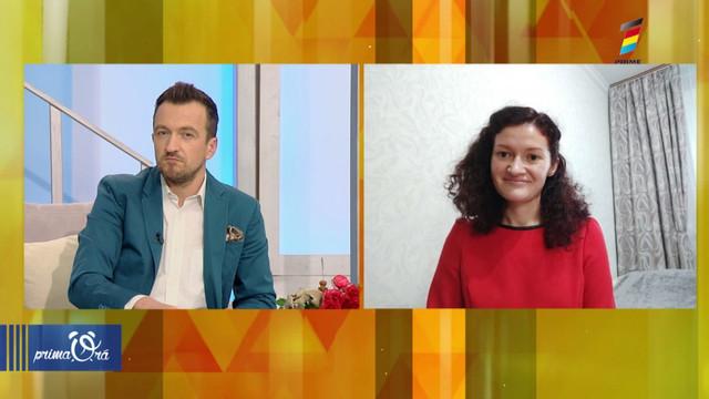 Interviu cu Maria Victoria Racu, la Prima Oră. Care este pericolul tratamentelor naturiste pentru răceală și viroze