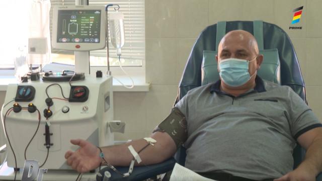 Povestea unui bărbat care a învins coronavirusul și a donat plasmă pentru a salva alte vieți