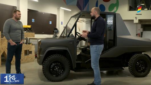 Doi ingineri moldoveni au creat prima mașină electrică din țară