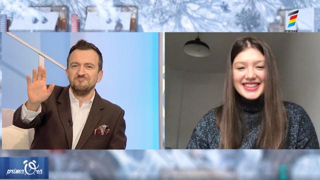 Interviu cu Diana Sturza, la Prima Oră. Detalii exclusive despre piesa lansată în colaborare cu Dj Sava