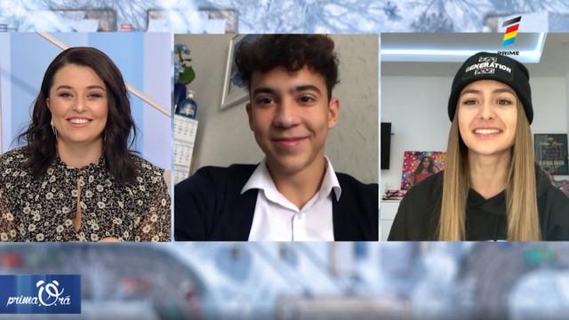 """Interviu cu Iuliana Beregoi și Mihai Ungureanu, la Prima Oră. Detalii despre lansarea filmului """"Lara. Aribelle și mâna destinului"""" pe Netflix"""