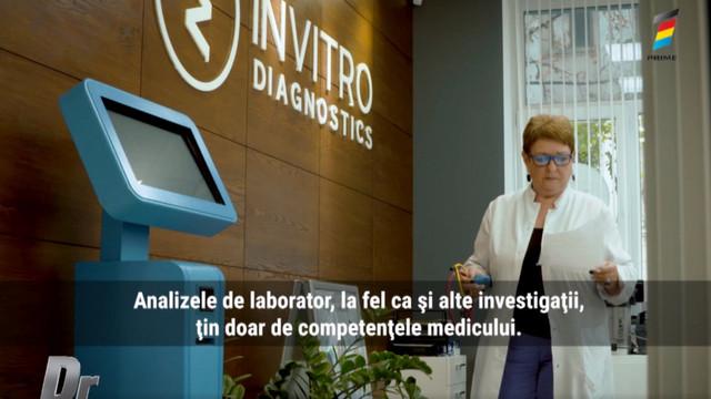 Interviu cu Svetlana Suetnova, la Doctorii. Când și cui se recomandă efectuarea analizelor medicale