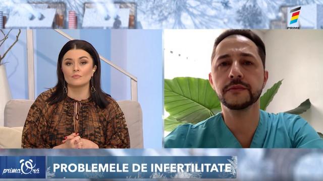 Interviu cu Vadim Scarlat, la Prima Oră. Totul despre problemele de infertilitate și suplimentele alimentare necesare în perioada de pre-concepere a unui copil