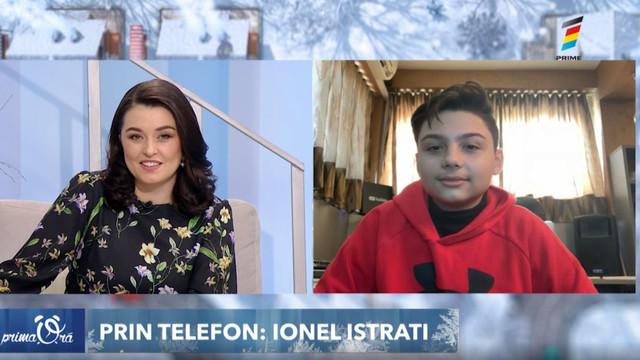 Interviu cu Mario Eduard, băiatul de 12 ani din România, care a înregistrat un cover la piesa lui Ionel Istrate