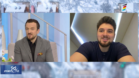 Interviu cu Vasile Macovei despre activitățile sale din pandemie și relația cu cei doi copii ai săi
