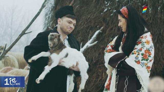 """""""Mândra mea de peste Prut"""". Mihaela Tabură și Laurențiu Marian au lansat un videoclip"""