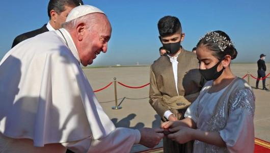 Папа Франциск совершил первый в истории папства апостольский визит в Ирак