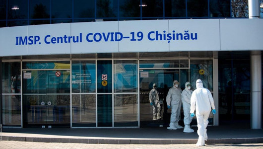 Ковид-центрна территории Moldexpo за год принял более 30 тысяч пациентов