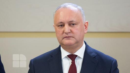 Igor Dodon: Republica Moldova nu își poate permite în acest moment un lockdown total