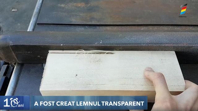 A fost creat lemnul transparent! Aflați cum este posibil acest lucru