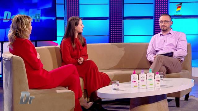 Interviu cu Iana Varanița, la Doctorii. Află care sunt produsele menite să mențină zona intimă curată